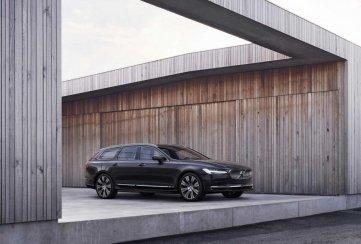 Video: Volvo revela a los S90 y V90 2021