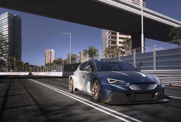 Cupra presenta sus modelos de carreras: e-Racer y León Competición