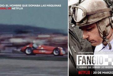 Netflix rendirá tributo al mítico Juan Manuel Fangio