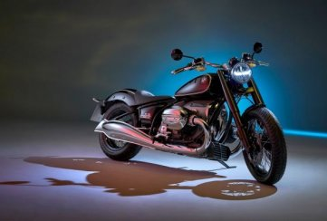 BMW presentó la nueva motocicleta R 18