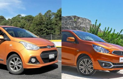 Comparativa: Mitsubishi Mirage 2018 vs. Hyundai Grand i10 2018