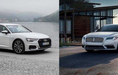Comparativa: Audi A6 S line quattro 2019 vs. Lincoln Continental 2019