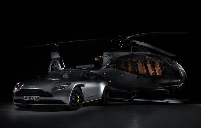 Aston Martin y Airbus crean un helicóptero de lujo