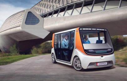 El Rinspeed MetroSnap muestra el futuro de la movilidad urbana en el CES