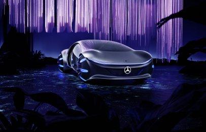 El Mercedes-Benz Vision AVTR se presenta en el CES