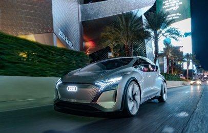 Audi presenta el AI:ME Concept en el CES