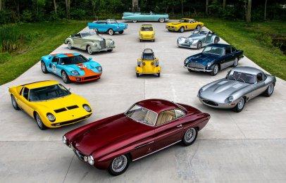 Subastarán la Colección Elkhart compuesta por 240 autos