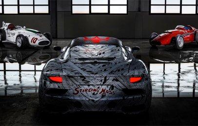 Maserati rinde homenaje a Stirling Moss con el MC20
