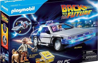 El set de Playmobil que todos los amantes de Volver al Futuro deben tener