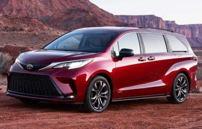 Toyota Sienna 2021, la minivan estrena nuevas tecnologías