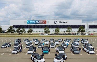 Una flota de Volkswagen ID.3 está lista para el mundo real