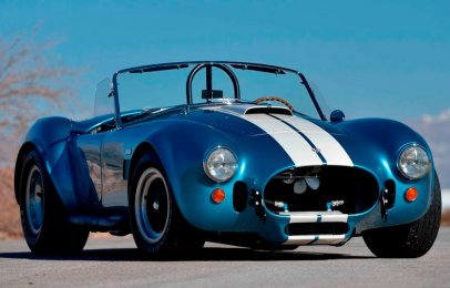 Sale a subasta un Shelby Cobra 427 S/C ¡Solo se fabricaron 29 unidades!