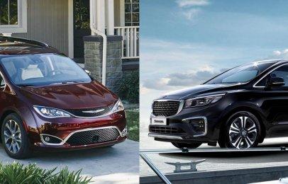 Comparativa: Chrysler Pacifica Limited Platinum 2020 vs Kia Sedona SXL 2020