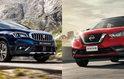 Comparativa: Suzuki S-Cross Boosterjet 2020 vs Nissan Kicks CVT Exclusive Bi-Tono 2020