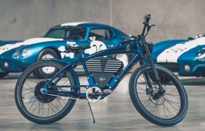 Shelby Limited Edition E-Bike una auténtica Cobra de dos ruedas