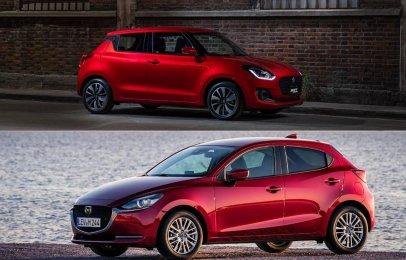 Comparativa: Suzuki Swift Boosterjet AT 2020 vs Mazda 2 Hatchback i Grand Touring 2020