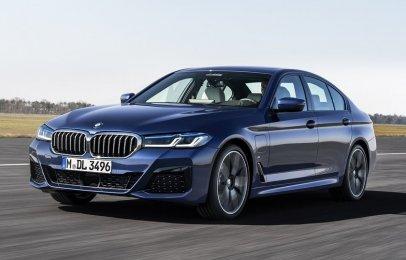 BMW Serie 5 2021 Reseña - El sedán se actualiza