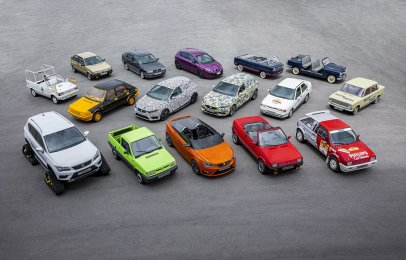 SEAT mostró sus vehículos más raros en 70 años de historia