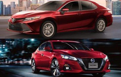 Comparativa: Nissan Altima Advance 2020 vs Toyota Camry XLE Navi 2020