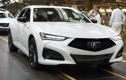 Dan banderazo de arranque a la producción del Acura TLX 2021