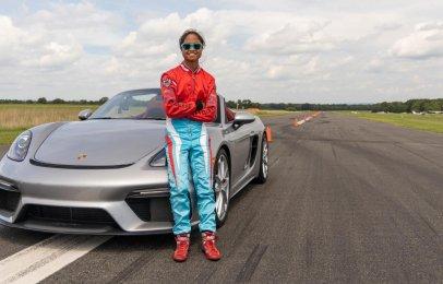 Video: El Porsche 718 Spyder consigue un récord Guinness