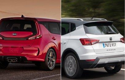 Comparativa: Kia Soul EX Pack IVT 2020 vs SEAT Arona Xcellence 2020