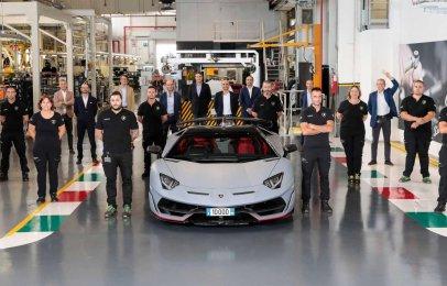 El Lamborghini Aventador llega a las 10 mil unidades producidas