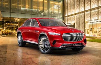 Mercedes-Benz podría hacer realidad al Maybach Vision Ultimate Luxury