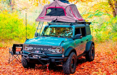 Ford Bronco Overland Concept, la todoterreno ideal para las excursiones