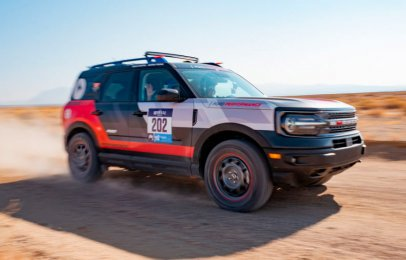 La Ford Bronco Sport muestra su poderío en el Rebelle Rally