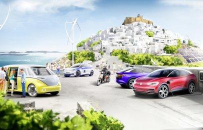 Volkswagen convertirá una isla griega en modelo de movilidad sustentable