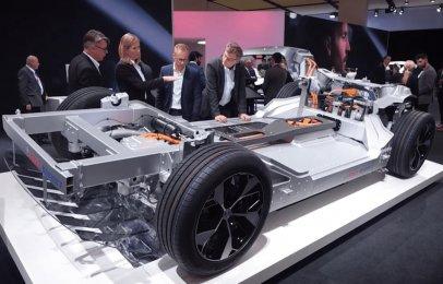 Bosch desarrolla un eje hecho especialmente para autos eléctricos