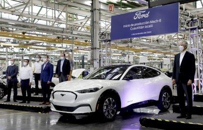 Arrancan formalmente la producción de la Mustang Mach-E en México