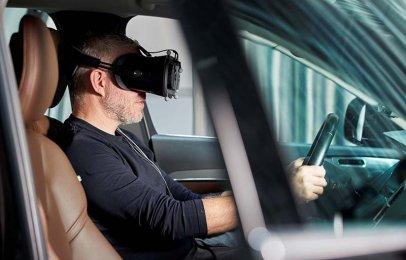 Video: Volvo desarrolla autos más seguros usando un simulador de conducción