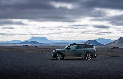 Mini Cooper S Countryman ALL4 pasea por Islandia