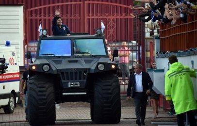 Estos fueron los autos que tuvo Maradona