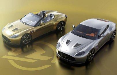 La primer pareja de Aston Martin V12 Vantage Zagato Heritage Twins ya fue producida