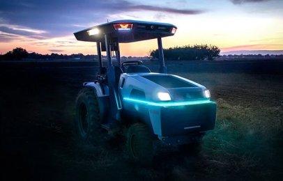Video: Monarch lanzó el primer tractor eléctrico e inteligente