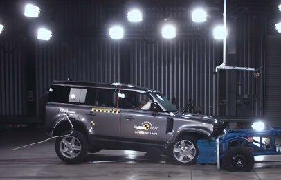Calificación perfecta para la Land Rover Defender en el Euro NCAP