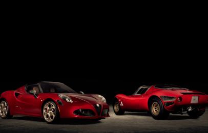 Conoce la edición especial Alfa Romeo 4C Spider 33 Stradale Tributo