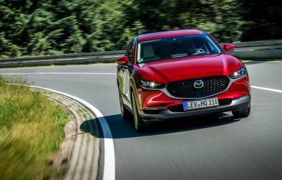 La Mazda CX-30 es nombrada Top Safety Pick+