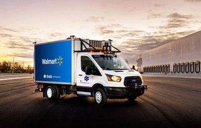 Video: Walmart incluye camiones autónomos en su logística en Estados Unidos