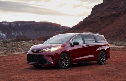 La Toyota Sienna Hybrid 2021 en el top de los vehículos más seguros