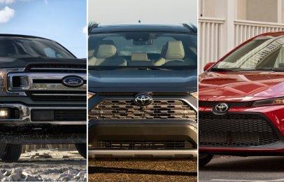 Los autos más vendidos a nivel mundial en 2020