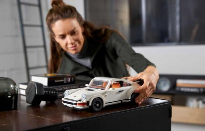 Video: Lego revela un nuevo set del Porsche 911 Turbo