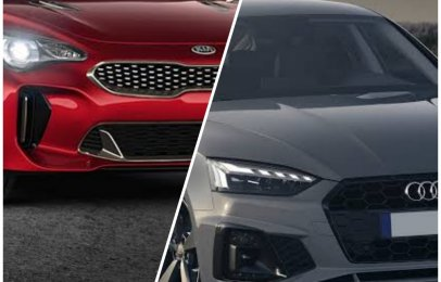 Comparativa: Kia Stinger GT 2021 vs. Audi A5 Sportback 40 TFSI S line 2021