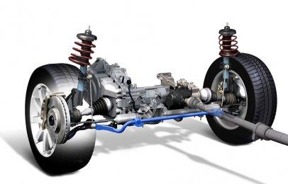 Tipos de suspensión delantera y cuáles son sus partes