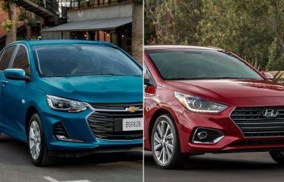 Comparativa: Chevrolet Onix Premier L 2021 vs Hyundai Accent Sedán GLS TA 2021
