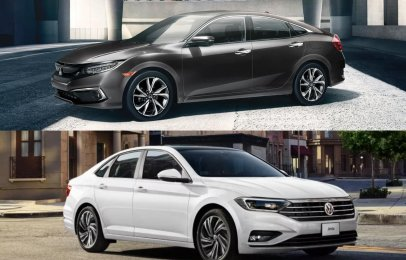 Comparativa: Honda Civic i-Style 2021 vs Volkswagen Jetta Comfortline 2021