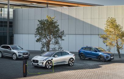 Jaguar Land Rover anunció su electrificación para 2030